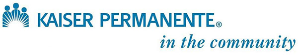 Logo of Kaiser Permanente.